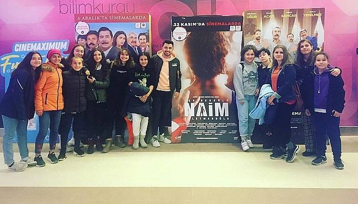 Sporcular Naim Süleymanoğlu'nun Filmini İzledi
