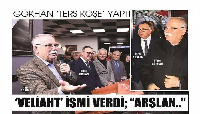 """GÖKHAN 'TERS KÖŞE' YAPTI 'VELİAHT' İSMİ VERDİ; """"ARSLAN.."""""""