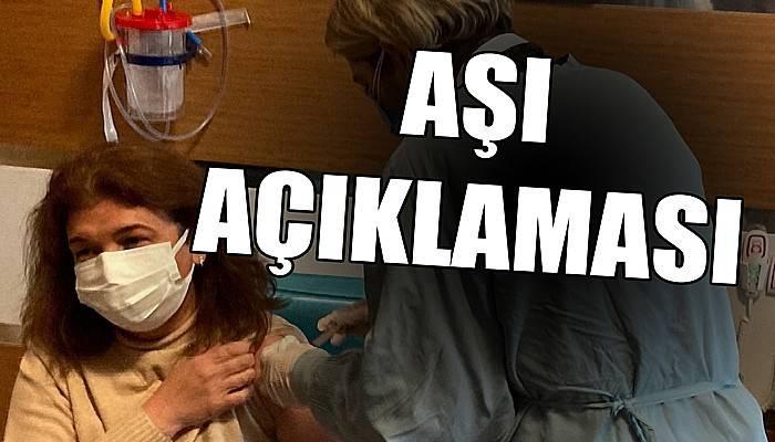 İl Sağlık Müdürlüğünden aşı açıklaması!