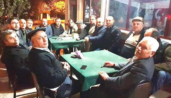 c'ndan Köy Ziyareti