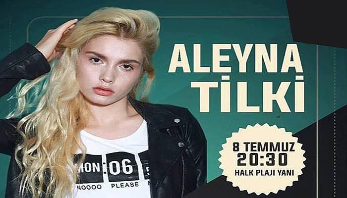 Aleyna Tilki, Çanakkale'de konser verecek