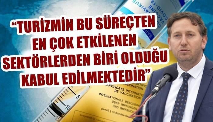ÇARO Başkanı 'aşı pasaportunu' değerlendirdi
