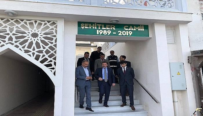 Eceabat Şehitler Camii İbadete Açıldı