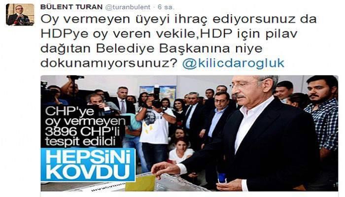 Ak Parti'li Turan, CHP Lideri Kılıçdaroğlu'na sordu!
