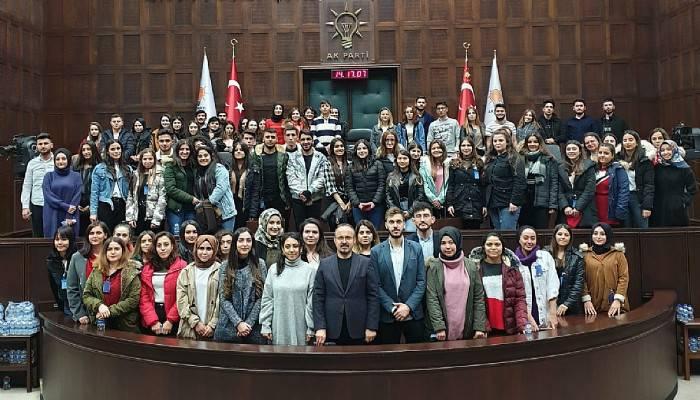 Turan, Kızılay Gönüllülerini TBMM'de Ağırladı