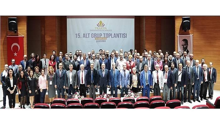 TÜB 15. Alt Kurul Toplantısı Bandırma'da Yapıldı