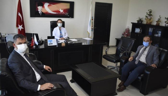 İŞKUR ve SGK il müdürlerinden kamu kurumlarına ziyaret