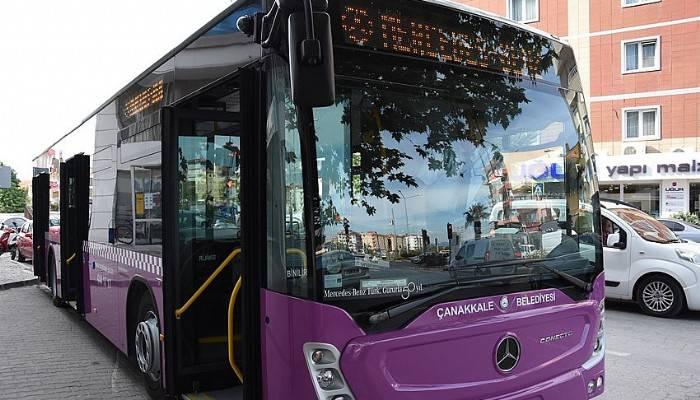 Bayram boyunca ücretsiz otobüs seferleri