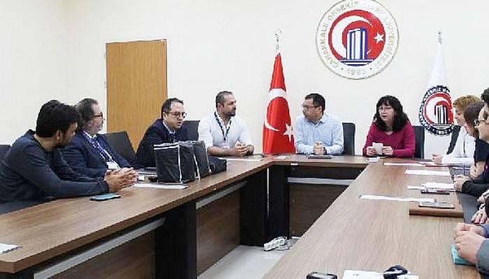 ÇOMÜ'DE KORONAVİRÜS ACİL EYLEM PLANI TOPLANTISI