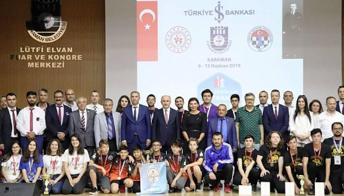 Satrançta Türkiye birincisi olduk