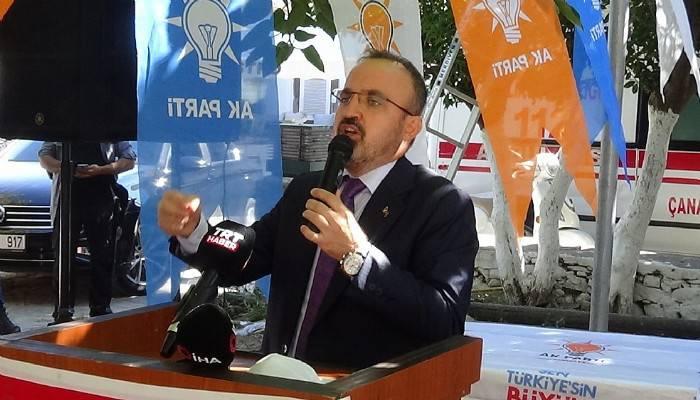 AK Parti Grup Başkanvekili Bülent Turan'dan CHP'ye tepki (VİDEO)