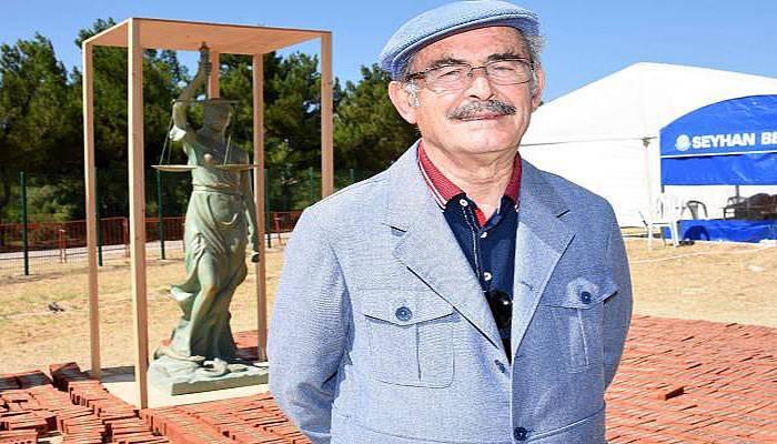 Büyükerşen Adalet Heykeli tasarımını anlattı (VİDEO)