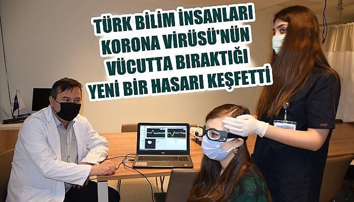 Türk bilim insanları Kovid-19'un vücutta bıraktığı yeni bir hasarı keşfetti (VİDEO)