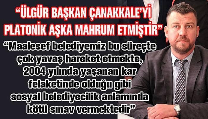 MHP'li Yalçın'dan belediyeye eleştiri!