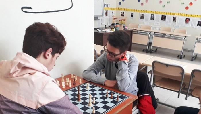 Gökçeada'da satranç turnuvası sona erdi