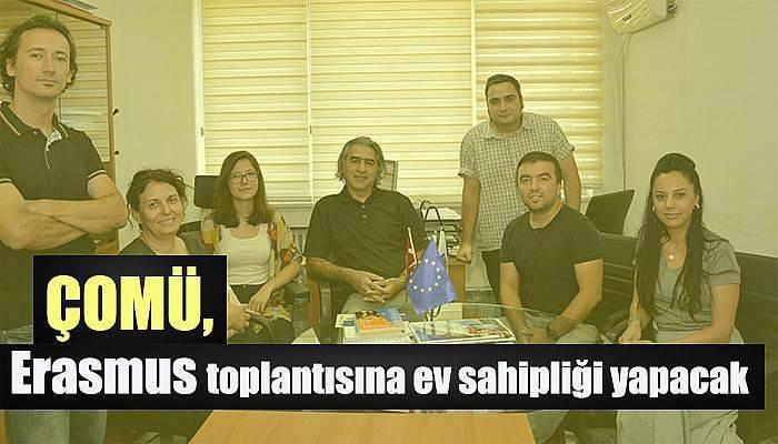 ÇOMÜ, Erasmus toplantısına ev sahipliği yapacak