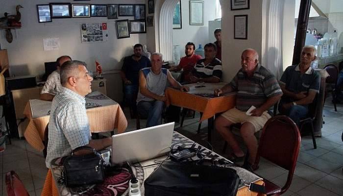 Lapseki'de AVBİS bilgilendirme çalışmaları