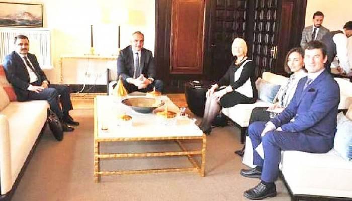 Alan Başkanı Kaşdemir, Bakan Ersoy'u Ziyaret Etti
