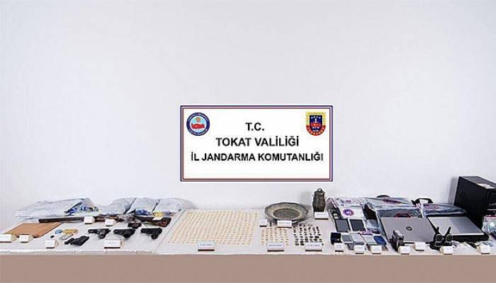 Tokat merkezli 6 ilde tarihi eser operasyonu: 16 gözaltı