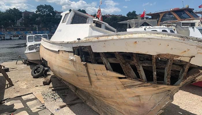 Deniz emekçileri tekneleri sezona hazırlıyor