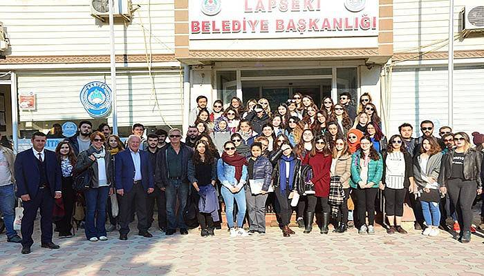 ODTÜ'lü öğrenciler Lapseki'de planlama yapıyor