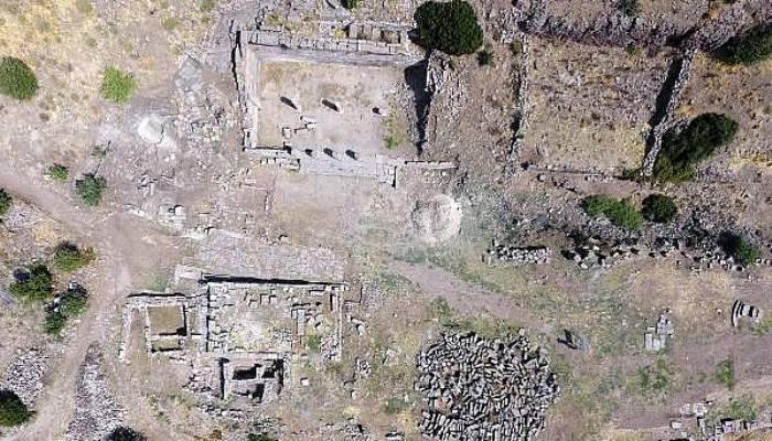 Asos, Anadolu'da en iyi korunan antik kent(VİDEO)