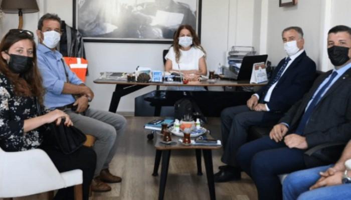 Çanakkale Kent Konseyleri Birliği'nden Başkan Yardımcısı Ünüvar'a Ziyaret