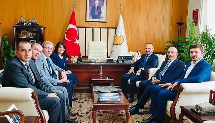 Turan, ÇOMÜ Rektörü Murat'ı ağırladı