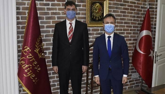 Çanakkale İŞKUR İl Müdürü Vekili Yavuz'dan Yenice ve Evreşe Belediyelerine ziyaret