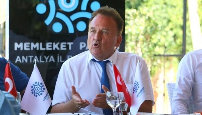 ÇANAKKALELİ BARANER ANTALYA'DA GÖREVİNE BAŞLADI: 'Bu düzeni değiştireceğiz'