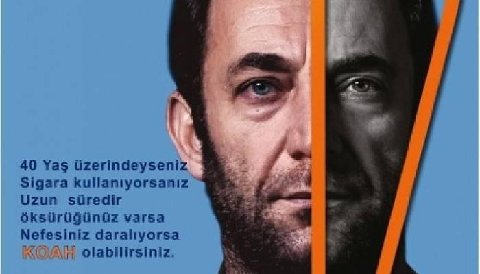 'MASKENİZİ TAKIN, MESAFENİZİ KORUYUN,HAYAT SİZDEN UZAKLAŞMASIN!'