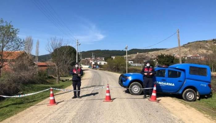 Biga'da 2 köy karantina altına alındı