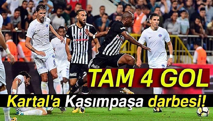 Kasımpaşa, Beşiktaş maçı kaç kaç bitti?