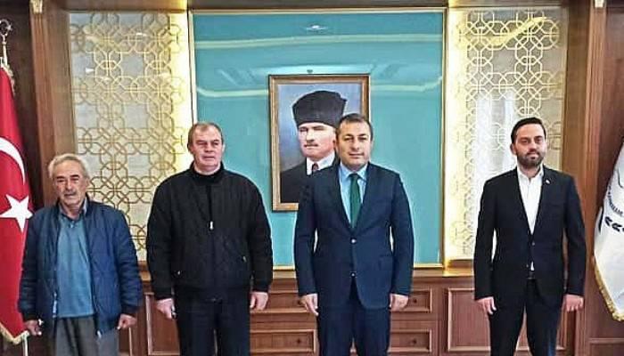 Kaymakam Şahin Siyasi Parti İlçe Başkanları İle Bir Araya Geldi