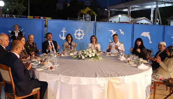 Vali Tavlı, Boğaz Komutanlığı ile iftar yaptı