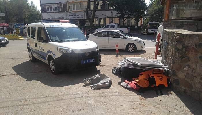 Ayvacık'ta Polis Ekiplerinden Göçmen Kaçakçılığı Operasyonu