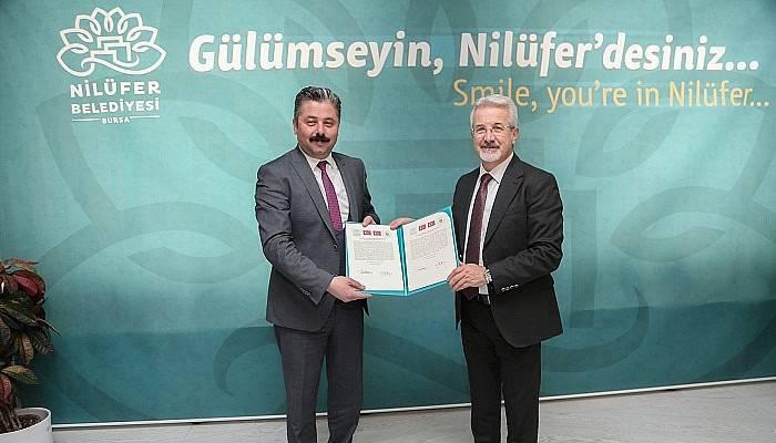Bursa'nın Nilüfer Belediyesi, Çanakkale'nin Bayramiç Belediyesi'yle kardeş şehir oldu.