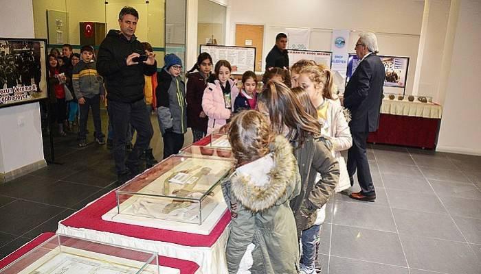 Sinop'ta Çanakkale Savaşları Müzesi Sergisi Açıldı