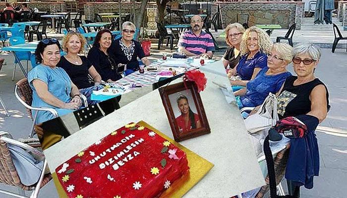 Kazada ölen müzik öğretmenine pastalı doğum günü