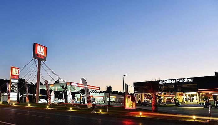 Miller Holding Lukoil Akaryakıt Tesisi Açılıyor