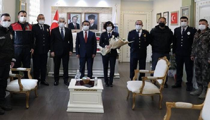 Türk Polis Teşkilatı 176'ncı Kuruluş Yıl Dönümünü Kutluyor