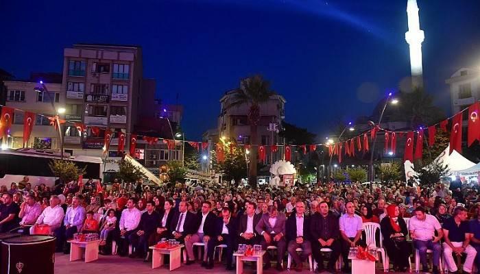 15 TEMMUZ ŞEHİTLERİ BİGA'DA ANILDI