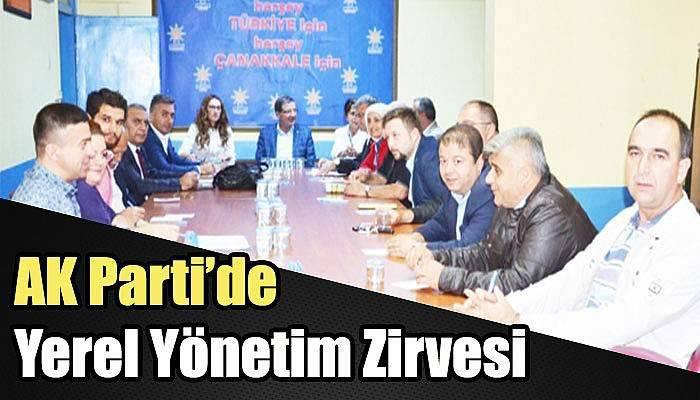 AK Partide Yerel Yönetim Zirvesi