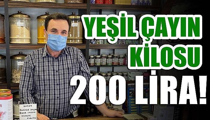 Yeşil çayın kilosu 200 lira!