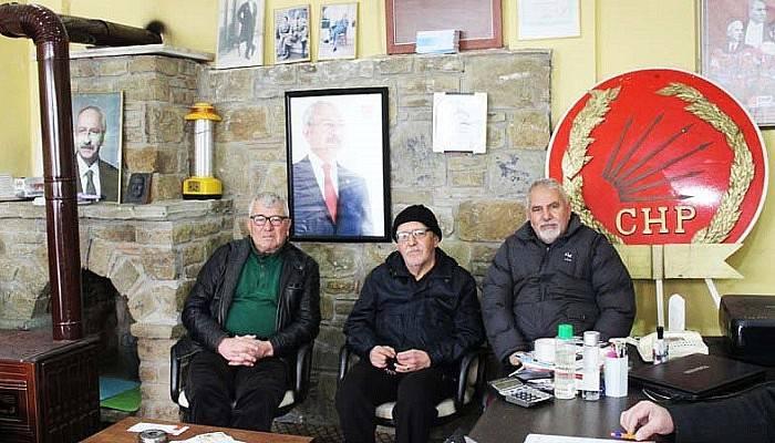 CHP'de devir teslim töreni yapıldı