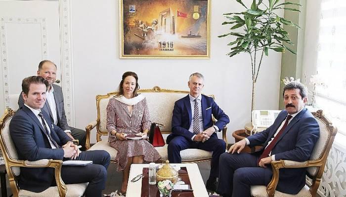 Ankara Büyükelçisi Christopher John Cooter, Vali Orhan TAVLI'yı Ziyaret Etti