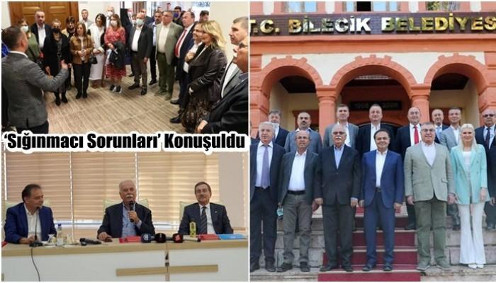 CHP'li İl Belediye Başkanları Toplantısında 'Sığınmacı Sorunları' Konuşuldu