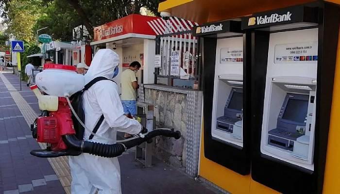 Kent genelinde dezenfeksiyon çalışmaları sürüyor
