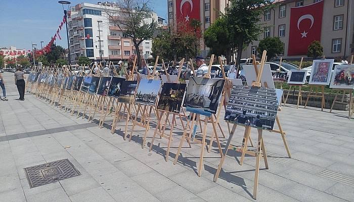 15 Temmuz Fotoğraf Sergisi ziyaretçilere açıldı