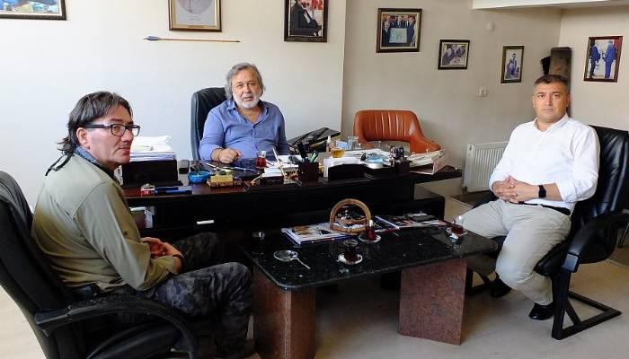 Pehlivan'dan Boğaz Medya'ya ziyaret